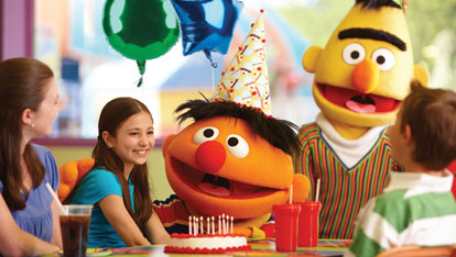 Bert and Ernie Dining
