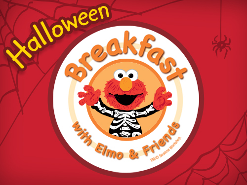 Breakfast with Elmo