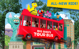 Big Bird's Tour Bus