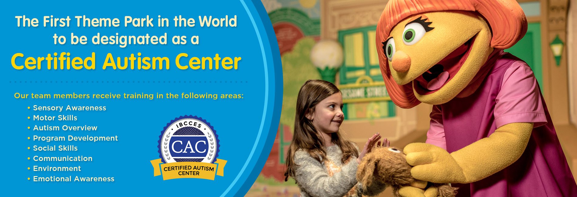 Sesame Place Has Partnered With The International Board Of Credentialing And Continuing Education Standards Ibcces A Global Leader In Online Training