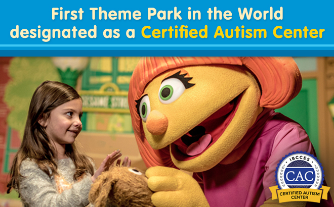 First Theme Park in the World designated as a Certified Autism Center