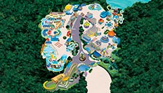 Sesame Place Park Map