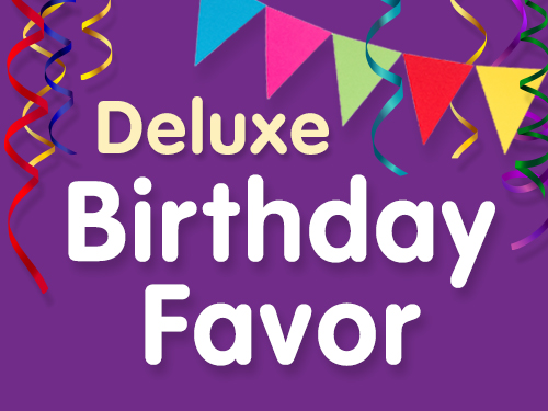 Deluxe Birthday Party Favor